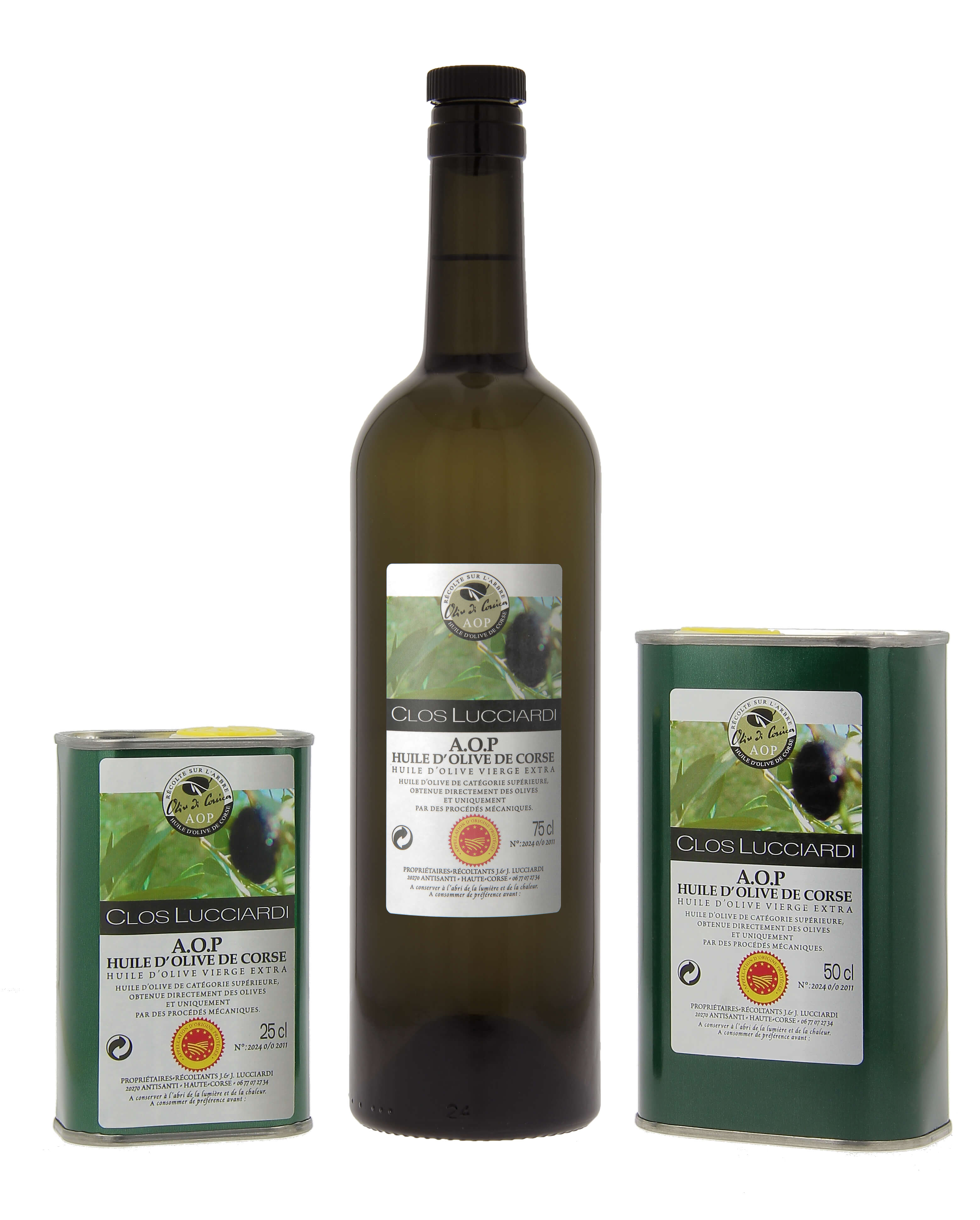 huile olive clos lucciardi aop oliu antisanti corse